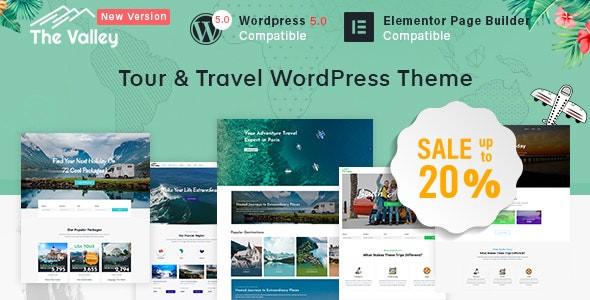 Valley - Tour & Travel Agency WordPress Theme