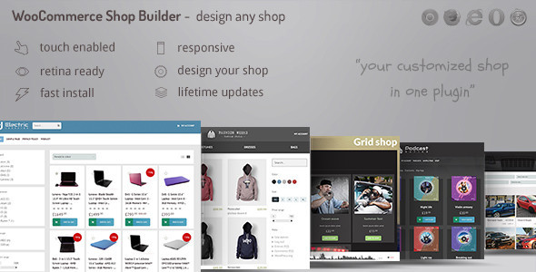 WooCommerce Shop Page Builder - Create any shop with advanced filters