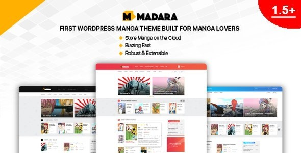Madara - WordPress Theme for Manga 1.6.5.3