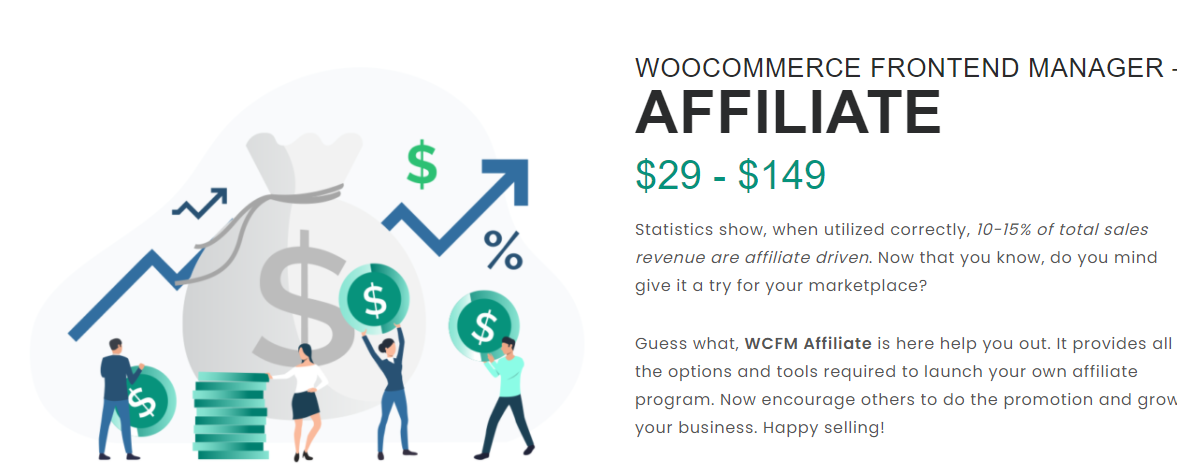WOOCOMMERCE FRONTEND MANAGER – AFFILIATE