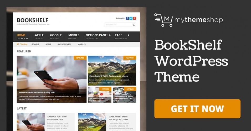 MyThemeShop BookShelf  2.1.1