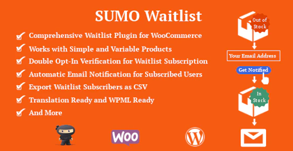 SUMO WooCommerce Waitlist