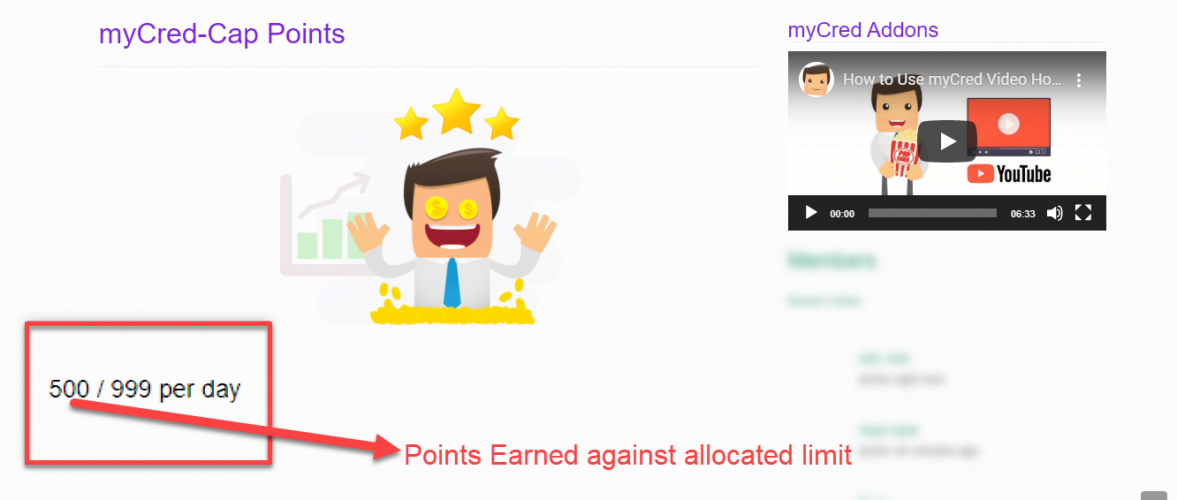 myCred Points Cap 1.1
