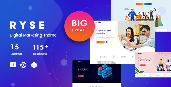 Ryse - SEO & Digital Marketing Theme
