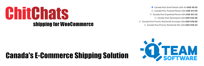 ChitChats Shipping PRO for WooCommerce
