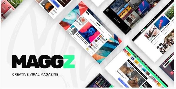Maggz - Magazine Theme