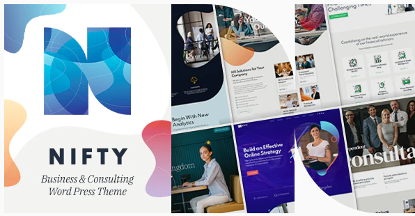 Nifty - Business Consulting WordPress Theme