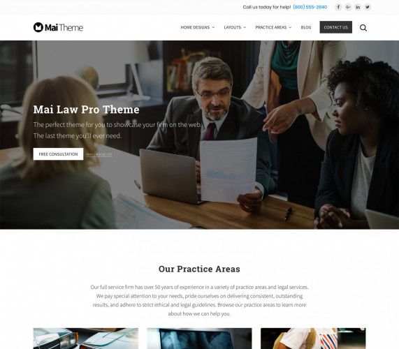 Mai Law Pro Theme Package