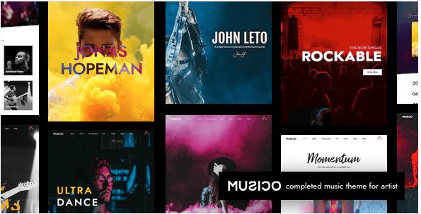 Music WordPress