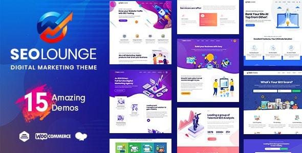 SEO Lounge - Digital Marketing Theme