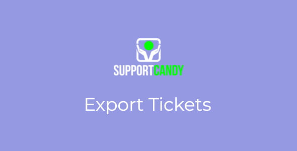 SupportCandy - Export Tickets 2.0.9