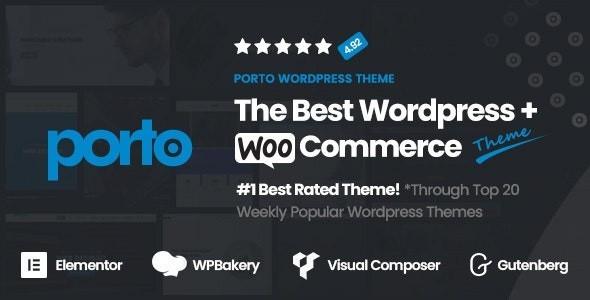 Porto | Responsive WordPress, eCommerce Theme 6.0.7