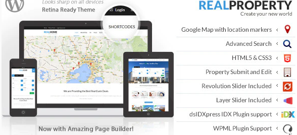 Real Property - RealEstate Theme