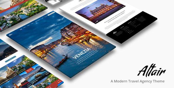 Altair   Travel Agency WordPress