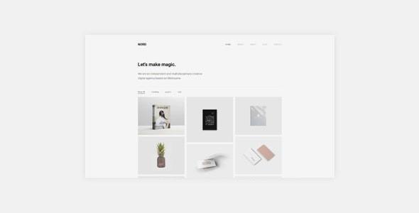 White - Minimal Portfolio WordPress Theme