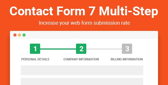 Contact Form 7 Multi-Step Pro