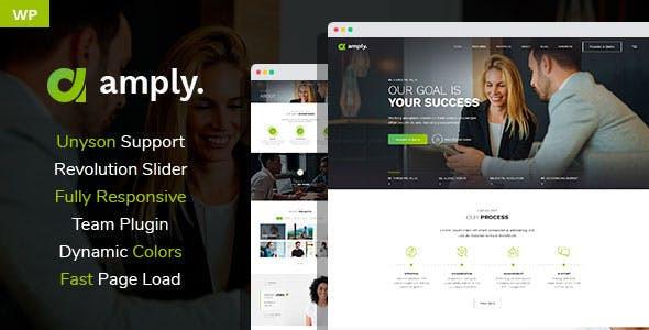 Amply - Web Design & Digital Business WordPress theme