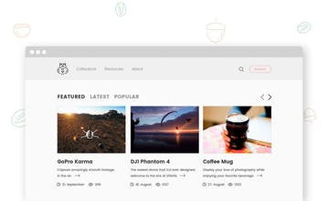 Chipmunk – A WordPress Theme for Content Curation
