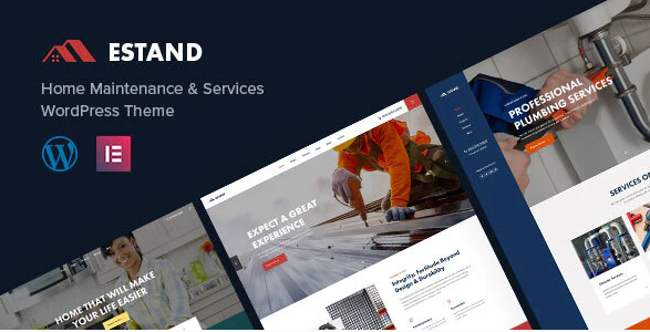 Estand | Home Maintenance WordPress Theme