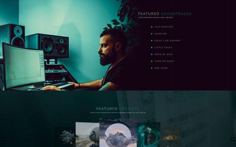 Cinematic WordPress Theme