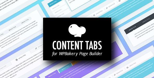 Content Tabs for WPBakery Page Builder (Visual Composer)