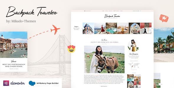 Backpack Traveler - Modern Blog