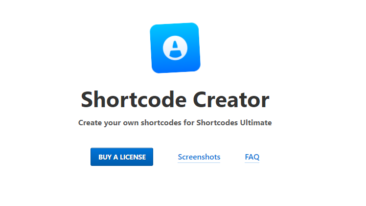Shortcode Creator