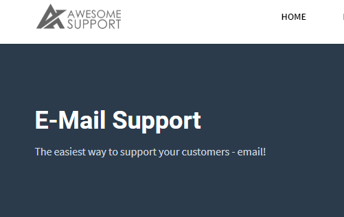 E-Mail Support