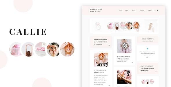 Callie - A Story WordPress Blog Theme
