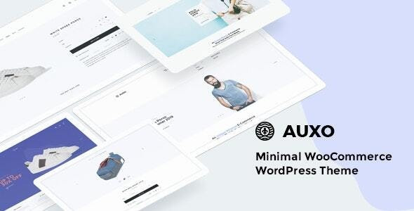 Auxo - Minimal WooCommerce Shopping WordPress Theme