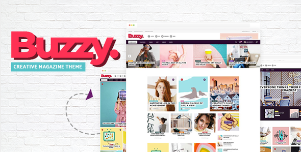 Buzzy - Creative Magazine Theme