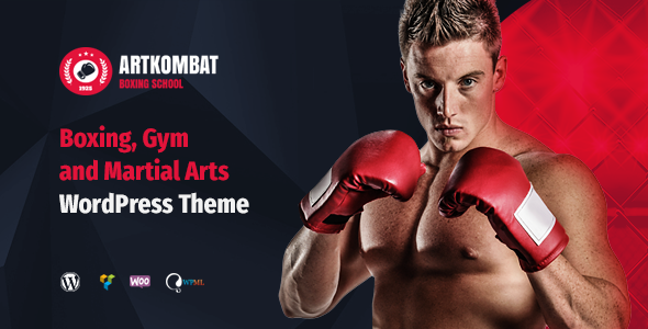 ArtKombat - Boxing School and Martial Arts WordPress Theme