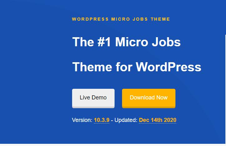 Micro Jobs Theme for WordPress