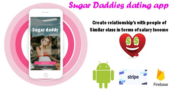 SugarDaddy - A high-end Dating app based on matching Income of partners to form relationships