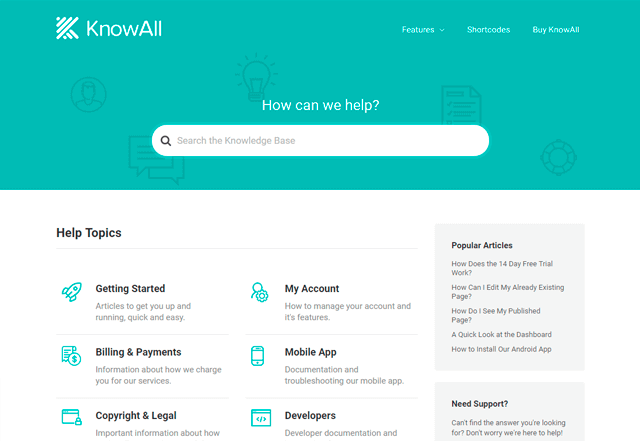 KnowAll by Herothemes