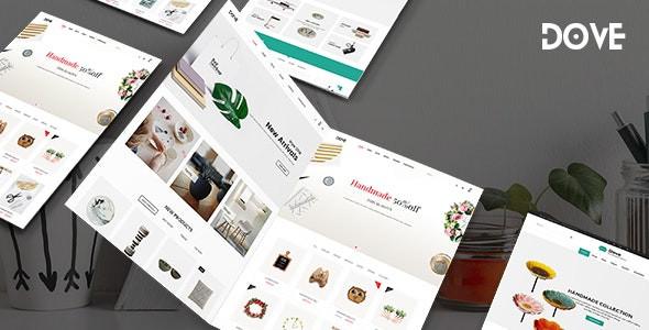 Dove   Handmade Crafts WooCommerce WordPress Theme