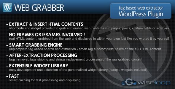Web Grabber WordPress Plugin