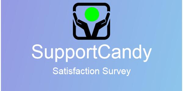 SupportCandy - Satisfaction Survey 2.1.1
