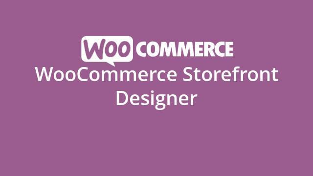 Woocommerce - Storefront Designer  1.8.4