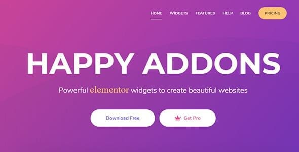 Happy Elementor Addons Pro  +   1.17.0