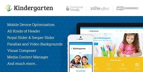 Kindergarten | Day Care & Children School Education WordPress Theme  3.8