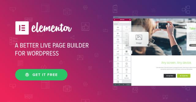 Elementor Website Builder (Free version) 3.1.4