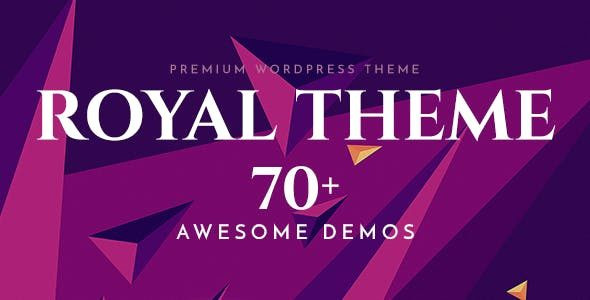 Royal - Multi-Purpose WordPress Theme  6.3