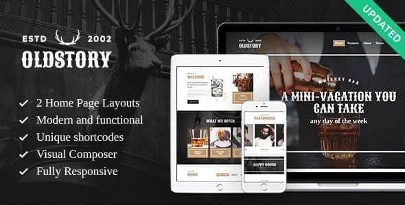 OldStory - Whisky Bar | Pub | Restaurant WordPress Theme