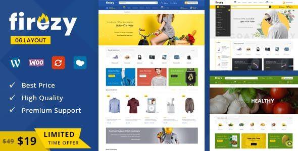 firezy - Multipurpose WooCommerce Theme x 5.8.x