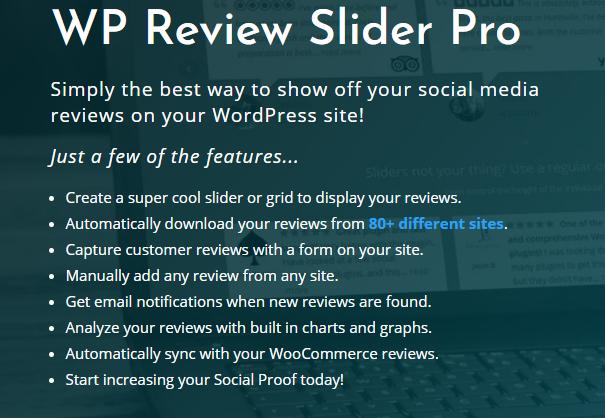 WP Review Slider Pro