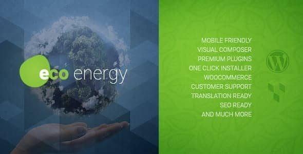 ECO Energy | Ecology & Alternative Power Company WordPress Theme  1.9.1