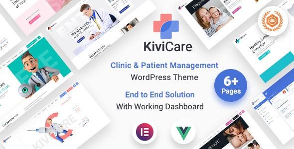 KiviCare - Medical Clinic & Patient Management WordPress Theme 1.4.2