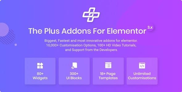 The Plus - Addon for Elementor  5.0.3