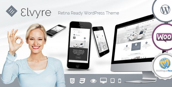 Elvyre - Retina Ready WordPress Theme